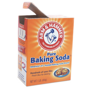 Baking soda for washing hair